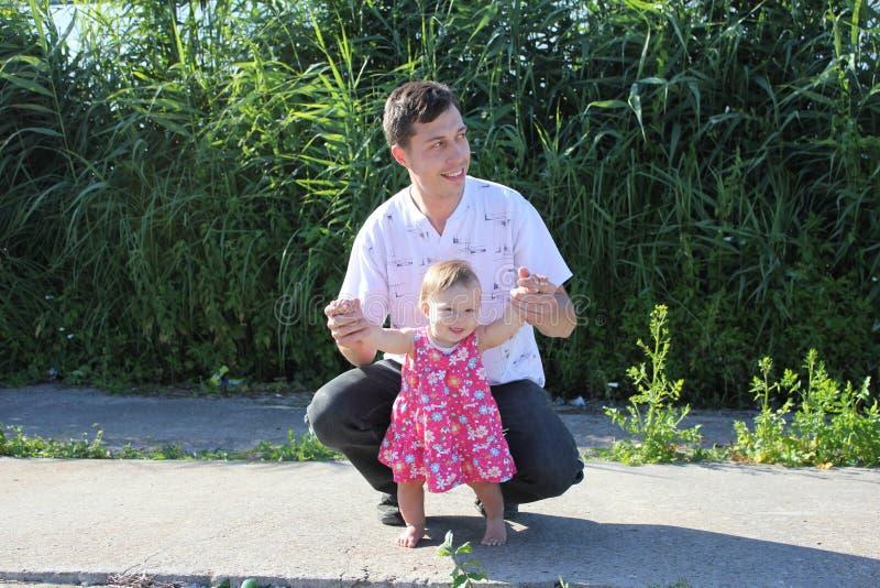 Papá e hija fotografía de archivo