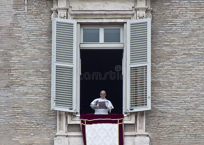 Papá Francesco fotos de stock