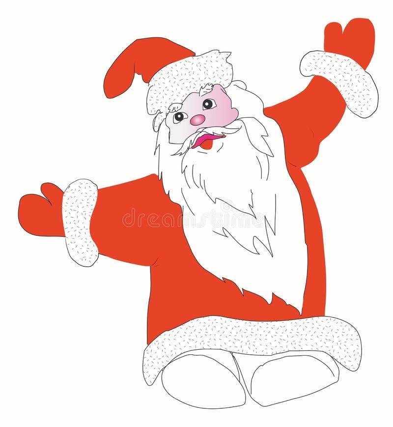 Papá Noel stock de ilustración