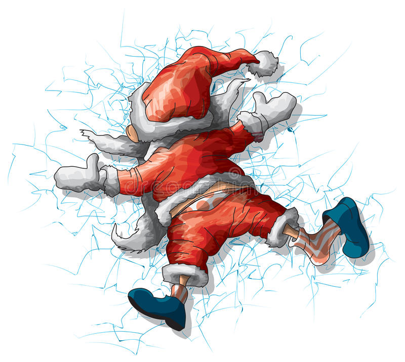 Papá Noel libre illustration