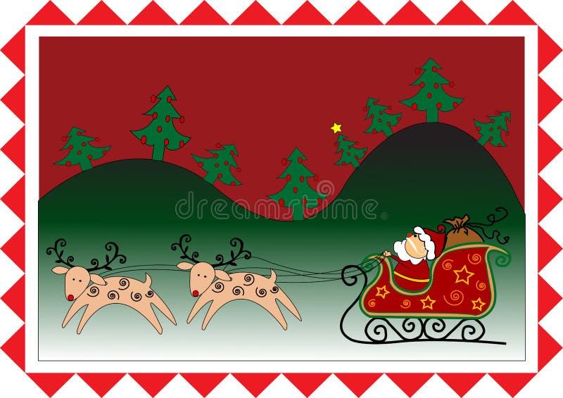 Download Papá Noel stock de ilustración. Ilustración de representación - 7286661