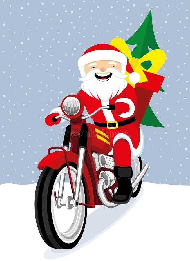 Papá Noel alegre libre illustration