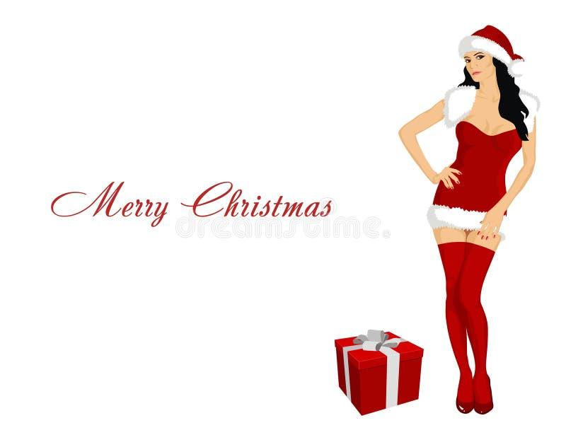 Papá Noel atractivo libre illustration