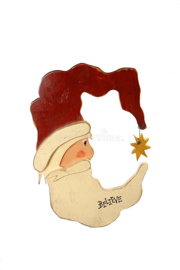 Papá Noel caprichoso fotografía de archivo libre de regalías