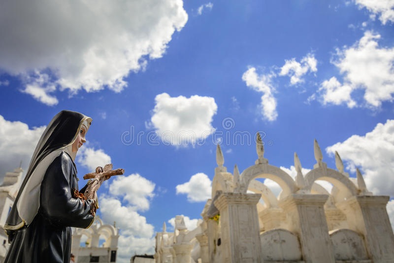 Papá Noel - cementerio bizantino fotos de archivo