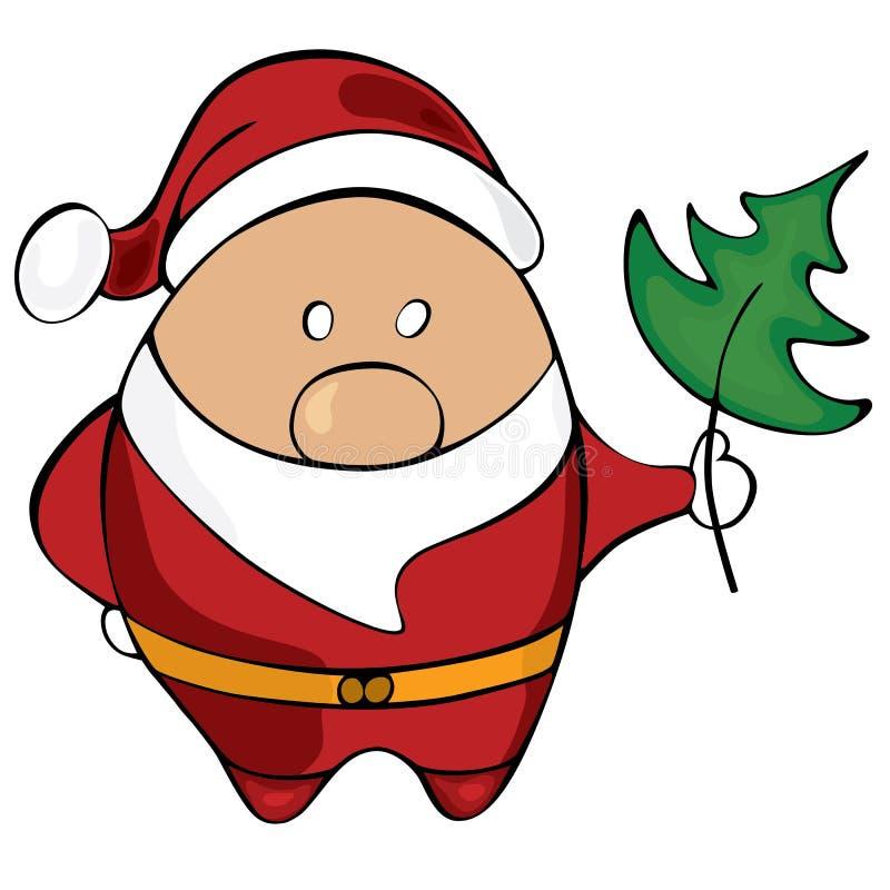 Papá Noel. Ejemplo del vector fotos de archivo libres de regalías