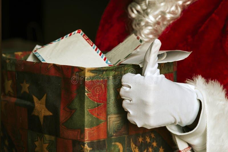 Papá Noel en la Navidad foto de archivo