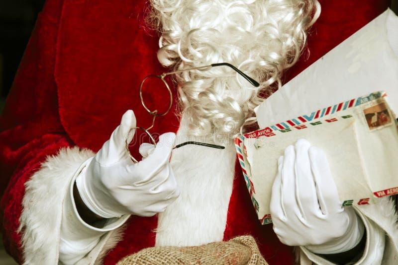 Papá Noel en la Navidad foto de archivo libre de regalías