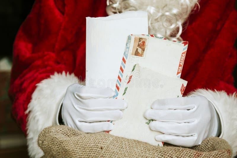 Papá Noel en la Navidad imagen de archivo