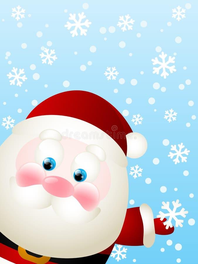 Papá Noel lindo stock de ilustración