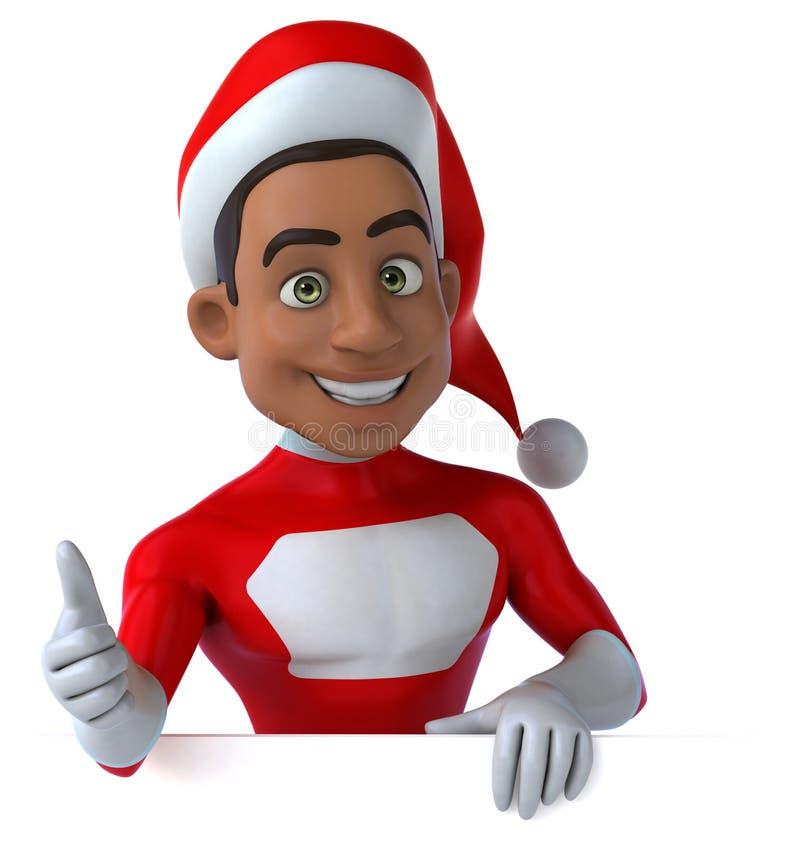 Papá Noel negro libre illustration