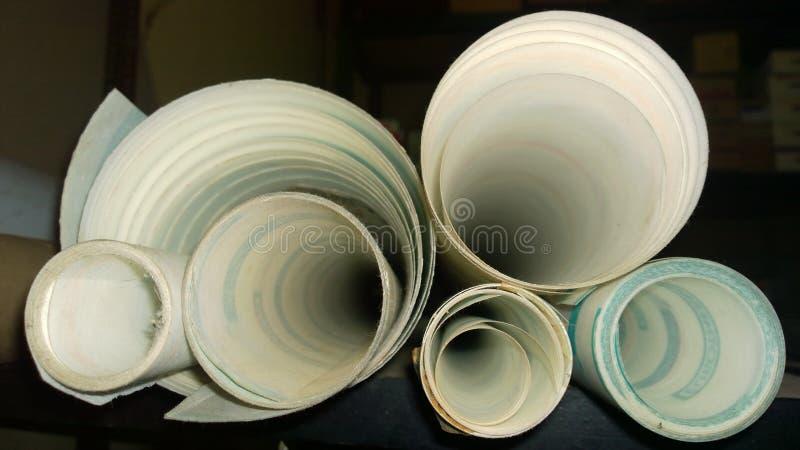 Papéis de papel imagem de stock