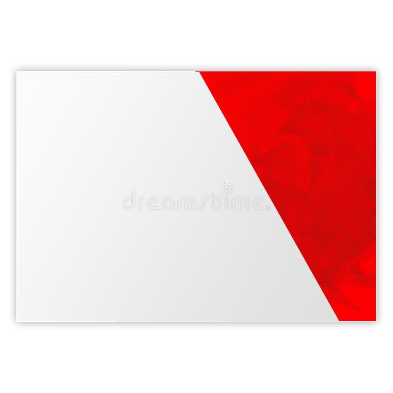 Pap?is de parede vermelhos 111 do fundo do cartaz da textura ilustração royalty free