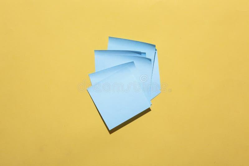 Papéis do memorando fotos de stock