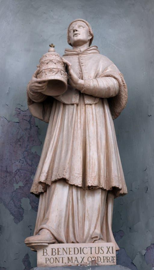 Papa benedetto Benedetto XI immagine stock