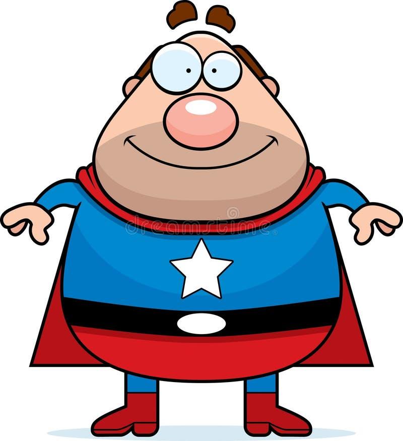 Papa de Superhero illustration de vecteur