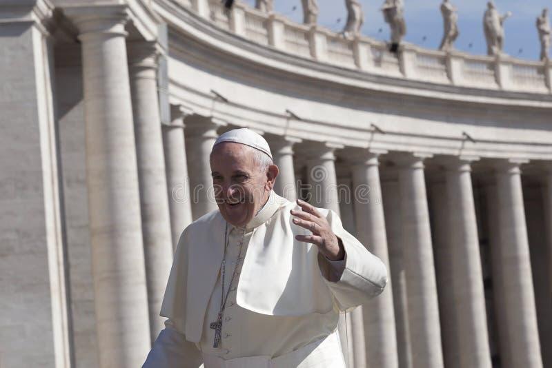 Papa Francesco - Bergoglio fotografia de stock