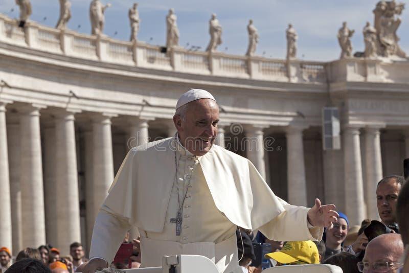 Papa Francesco - Bergoglio imagens de stock