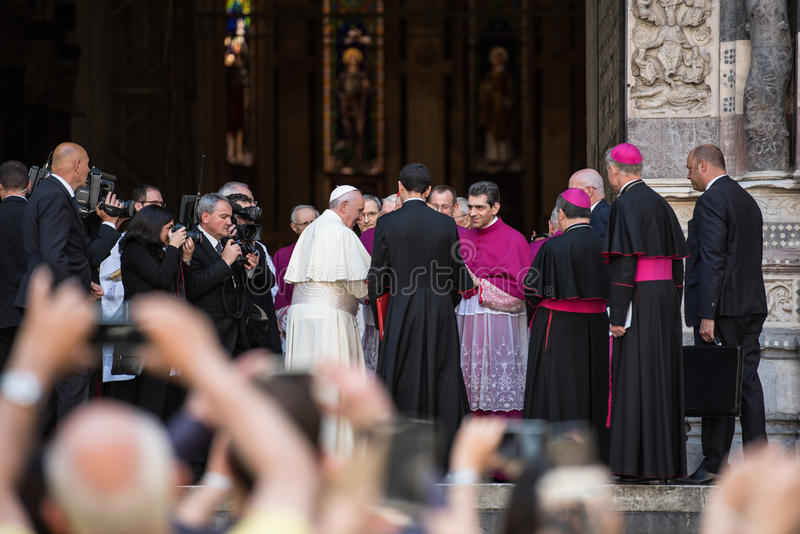 Papa Francis imagens de stock royalty free