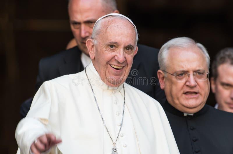 Papa Francis imagens de stock