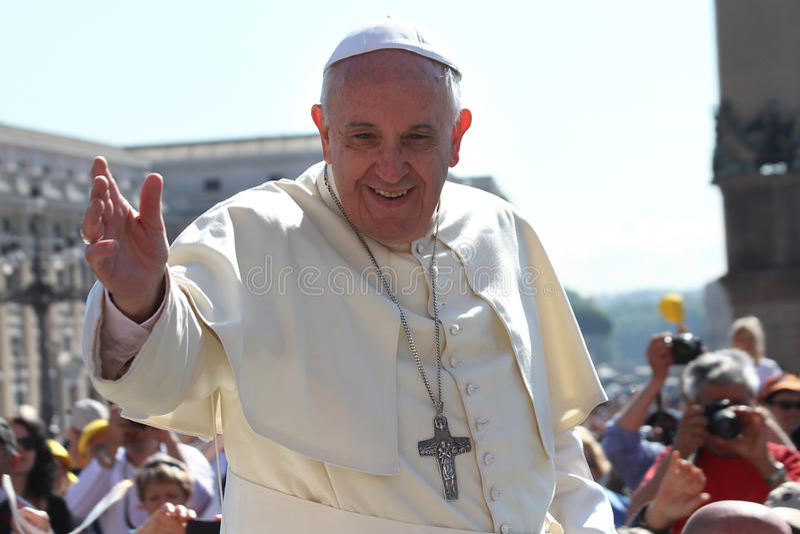 Papa Francis Retrato fotos de stock