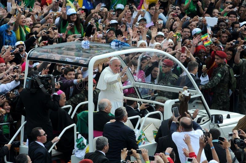 Papa Francisco stockbild
