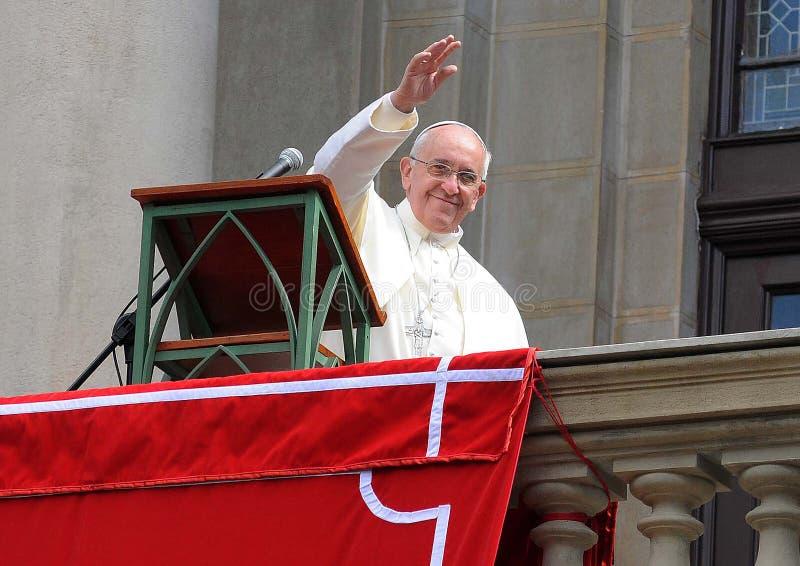 Papa Francisco arkivbilder