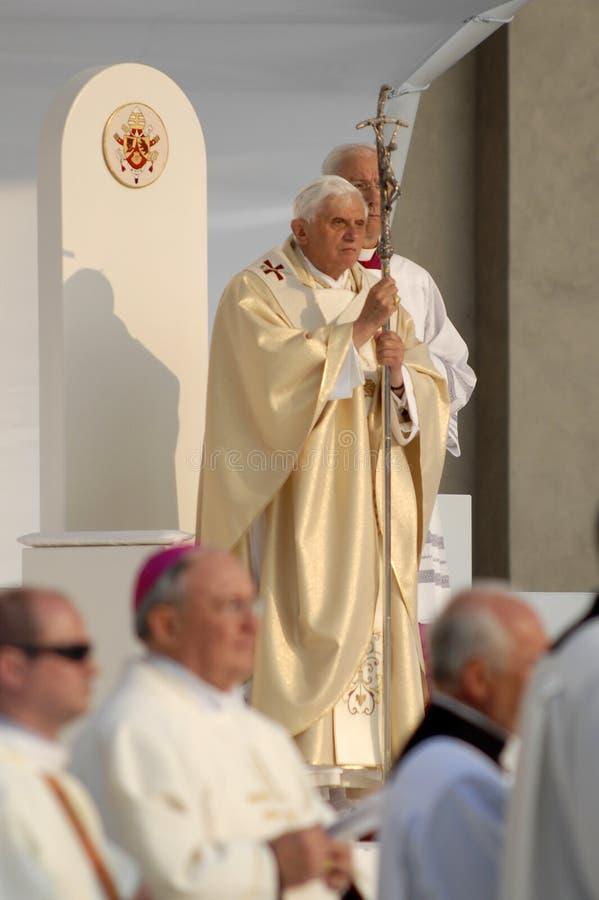 Papa Joseph Benedict XVI fotografia de stock