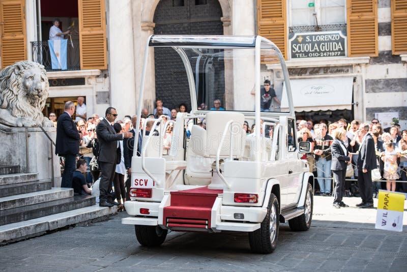 Papa Móvel imagens de stock royalty free