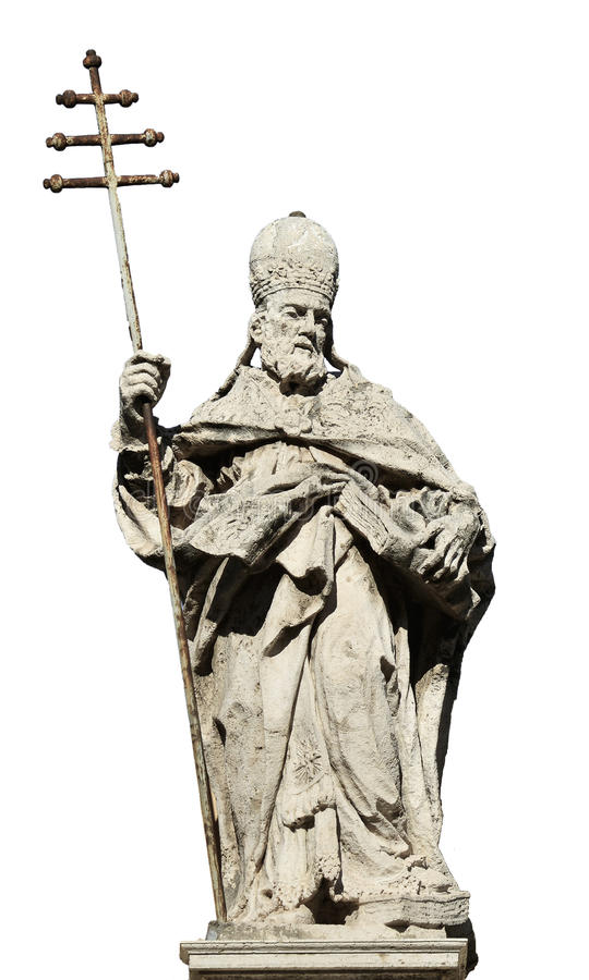 Papa Silvestre I imágenes de archivo libres de regalías