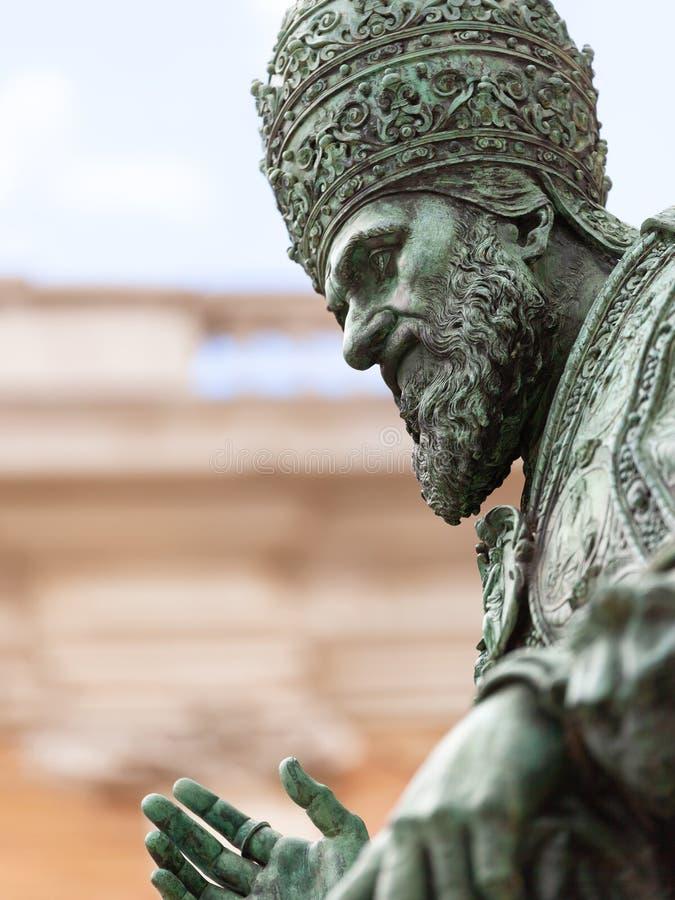 Papa Sixtus V fotografia de stock