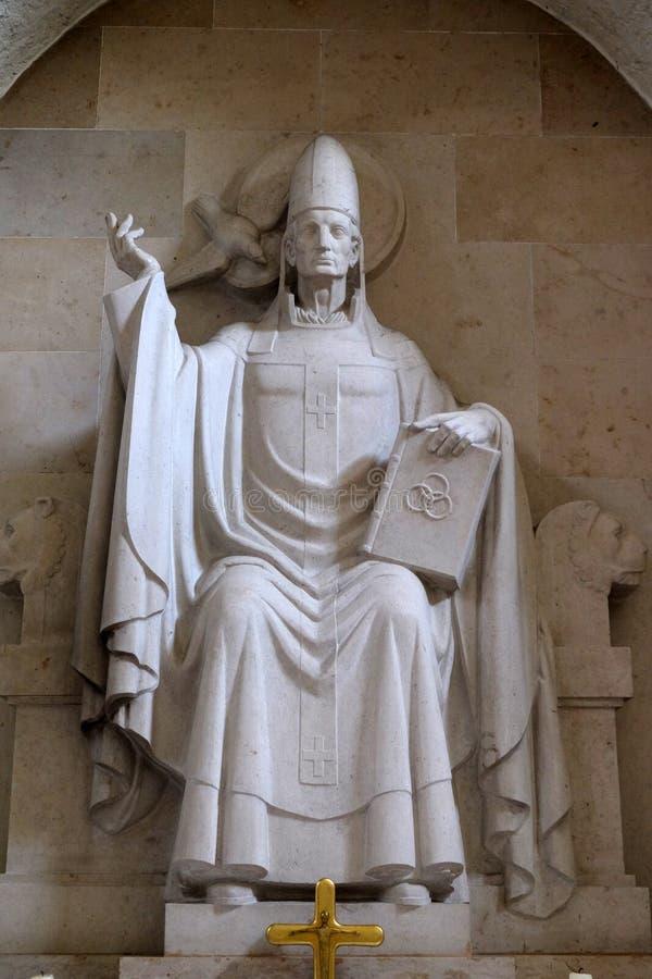 Papa St Gregory I fotos de archivo