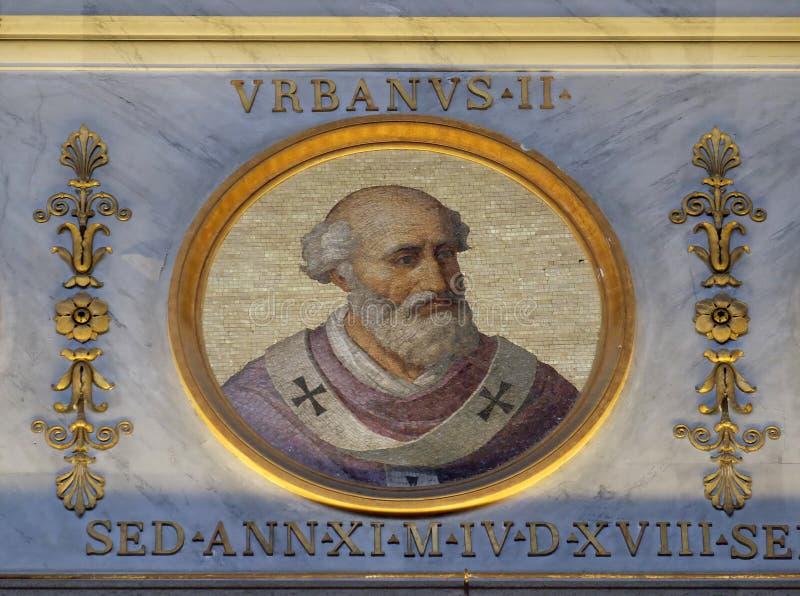 Papa Urbano II imagenes de archivo