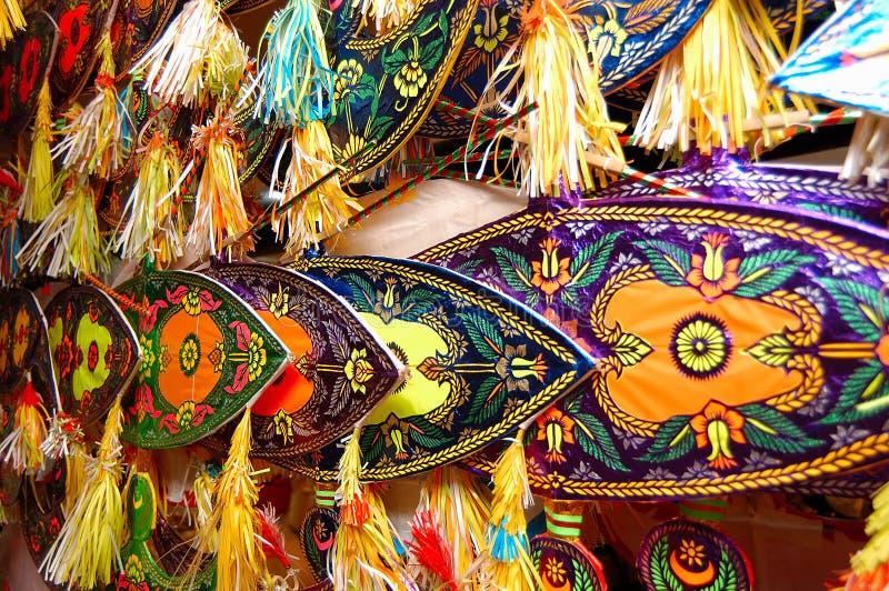 Papagaio malaio (Wau) fotos de stock royalty free