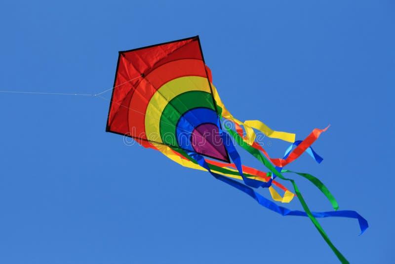 Papagaio no céu foto de stock royalty free