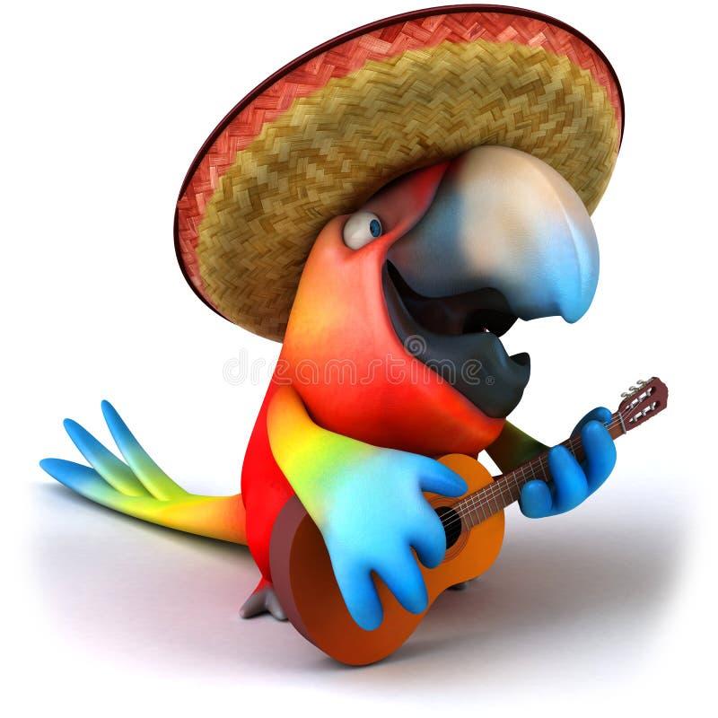 Papagei lizenzfreie abbildung