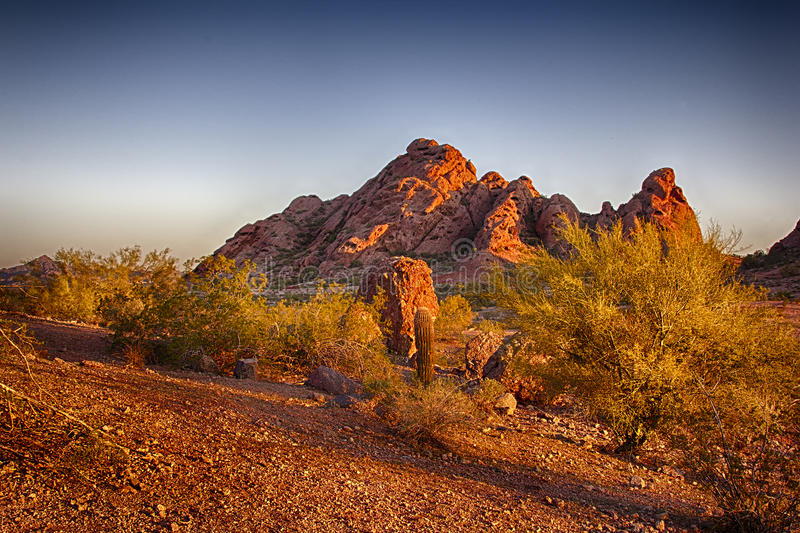 Papago Park royalty free stock photography