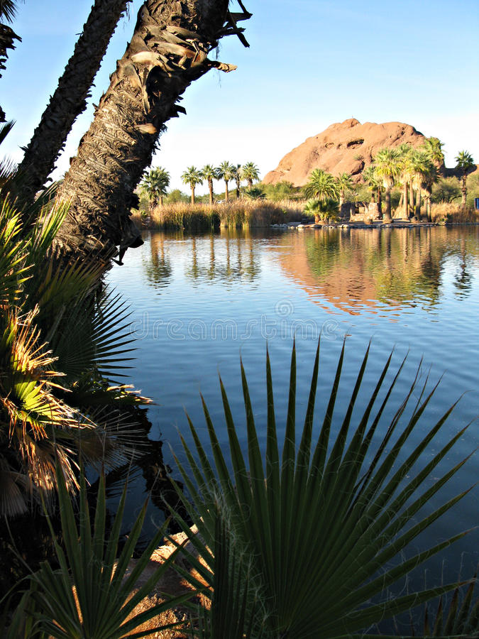 Papago park, Arizona fotografia stock