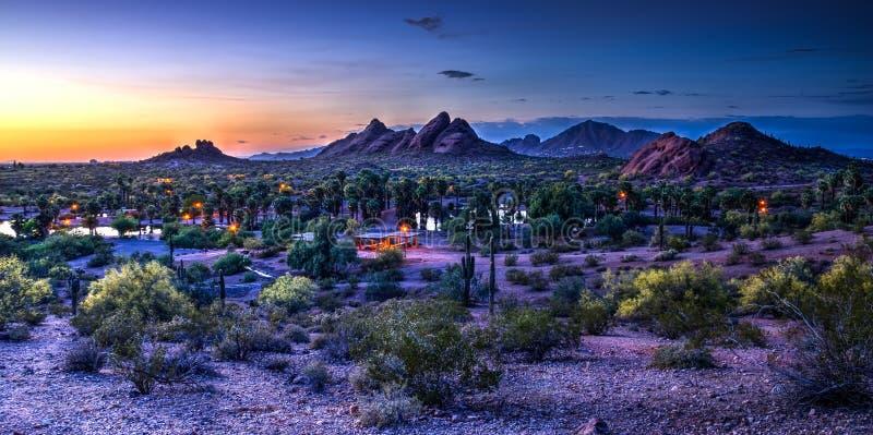 Camelback Mountain In Scottsdale Arizona Stock Image