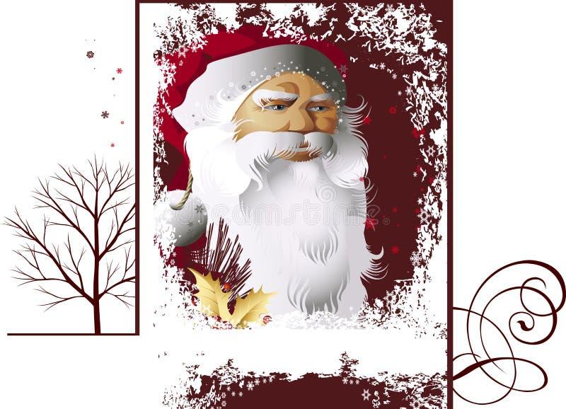 Papai Noel. ilustração do vetor