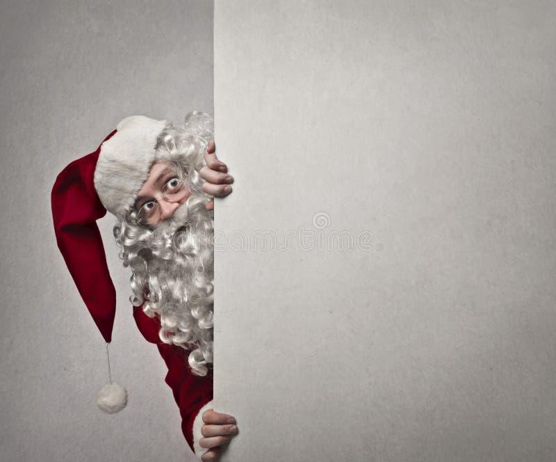 Papai Noel cuidadoso imagem de stock royalty free