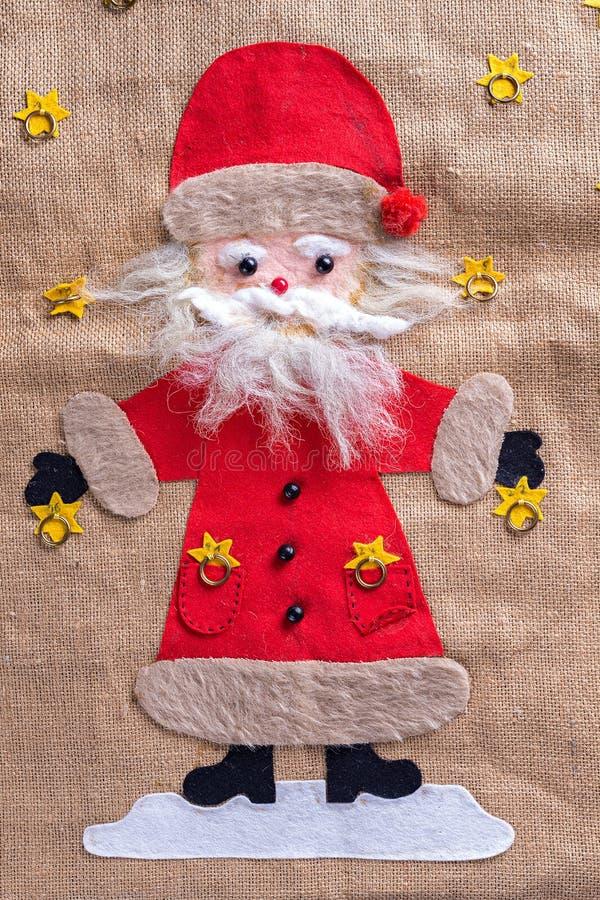Papai Noel engraçado imagem de stock