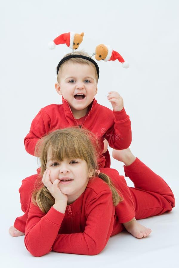 Papai Noel está vindo! imagem de stock royalty free