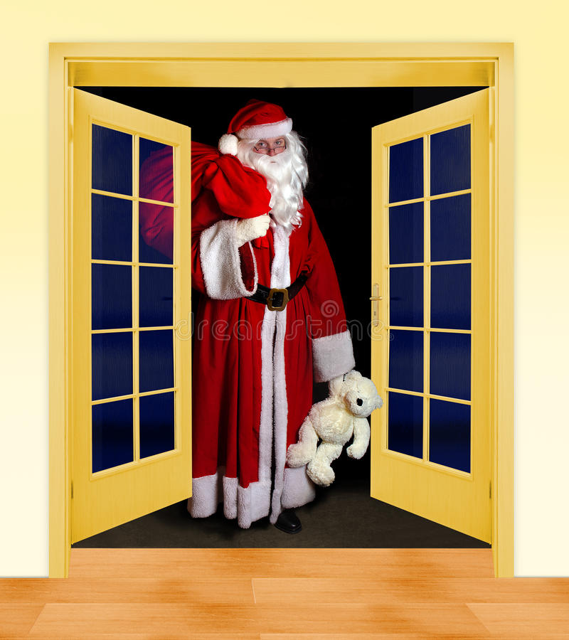 Papai Noel está vindo imagem de stock royalty free