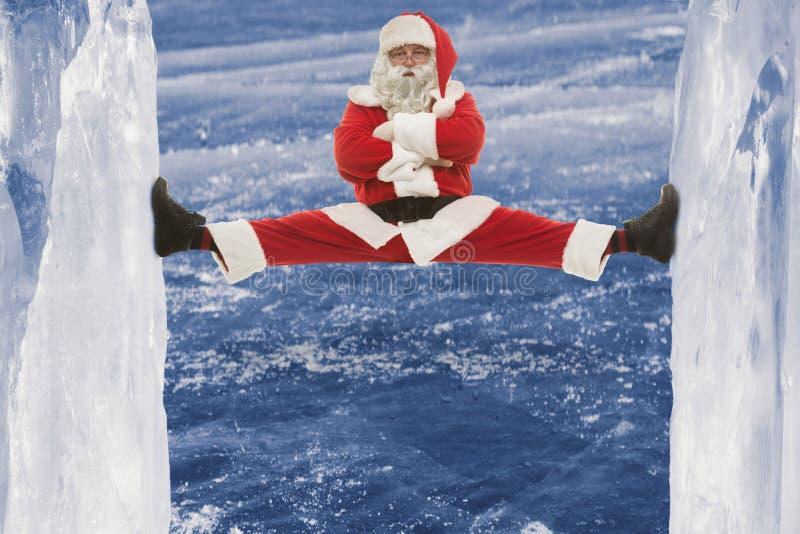 Papai Noel fresco fotos de stock royalty free