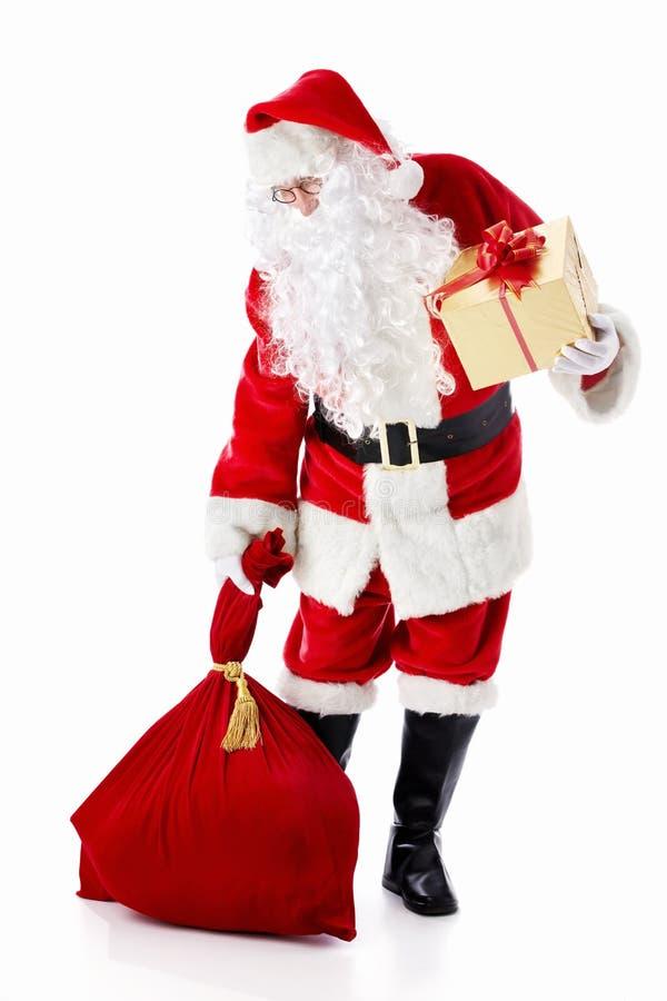 Papai Noel idoso imagem de stock royalty free