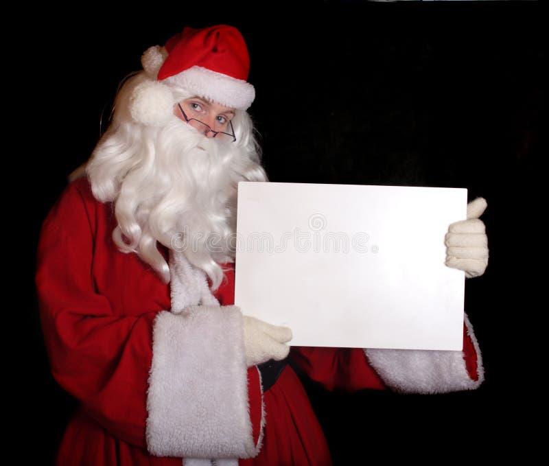 Papai Noel tradicional fotografia de stock