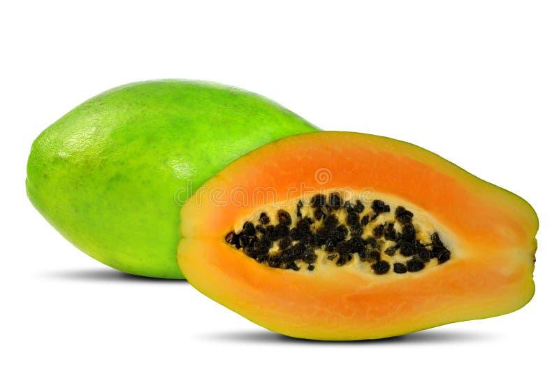 Papaia exótica da fruta imagem de stock