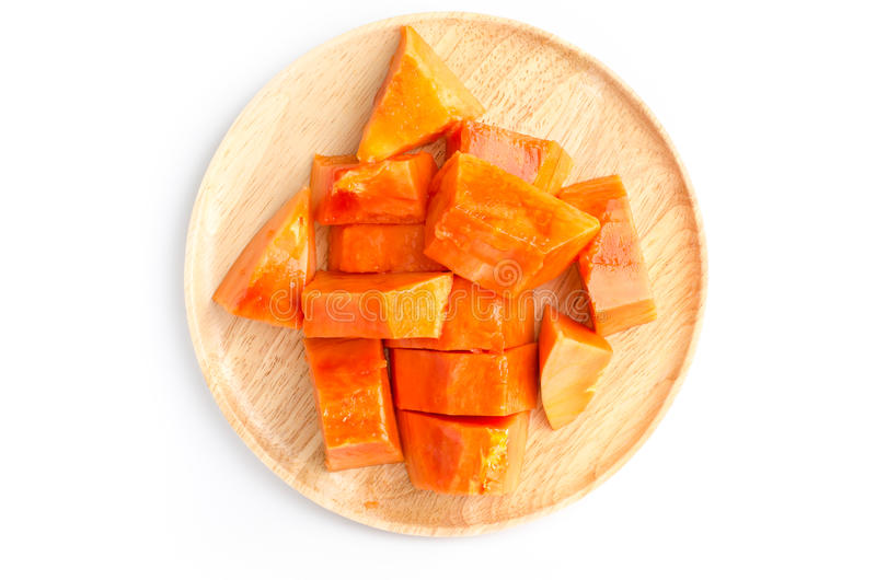 Papaia madura foto de stock royalty free