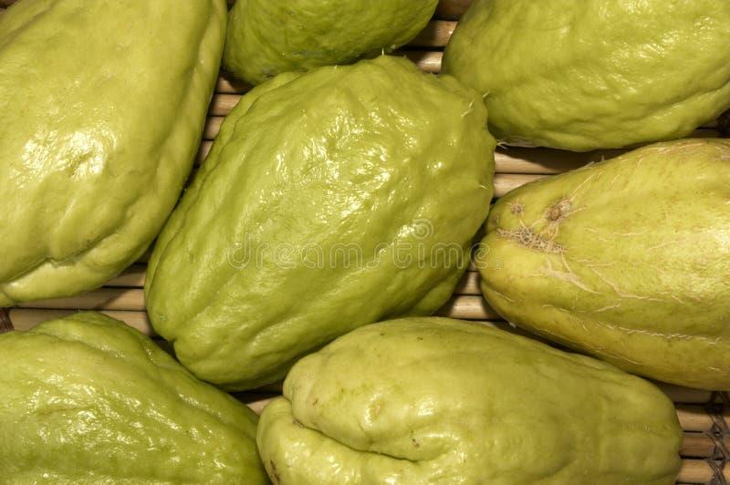 Papaia Verde Fotografia de Stock Royalty Free